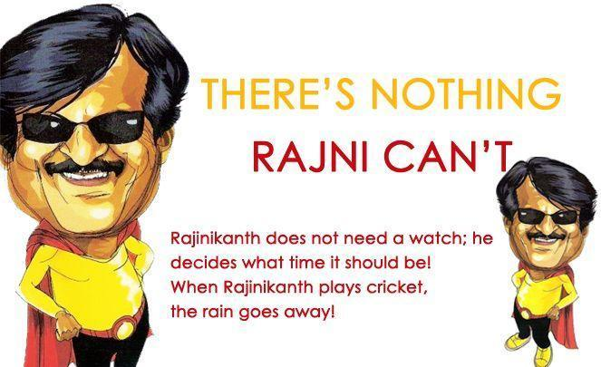 There's Nothing Rajni Can't