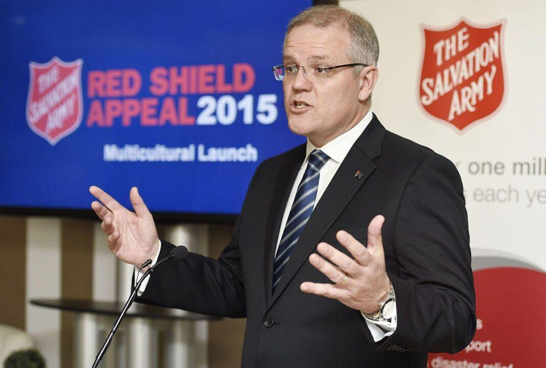 The Hon Scott Morrison MP launched The Salvation Army Red Shield Appeal to Multicultural Communities