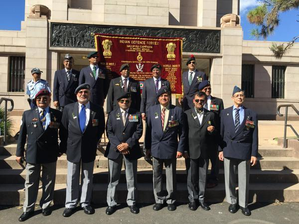 Remembering ANZAC Indians