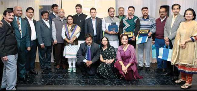 Indian parliamentarians feted at grand community reception