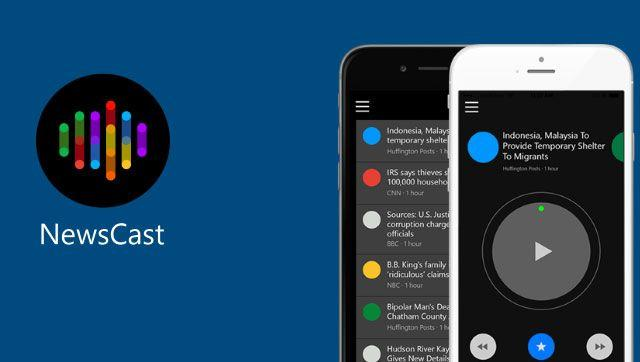 Microsoft's working on an app that reads out the news to you
