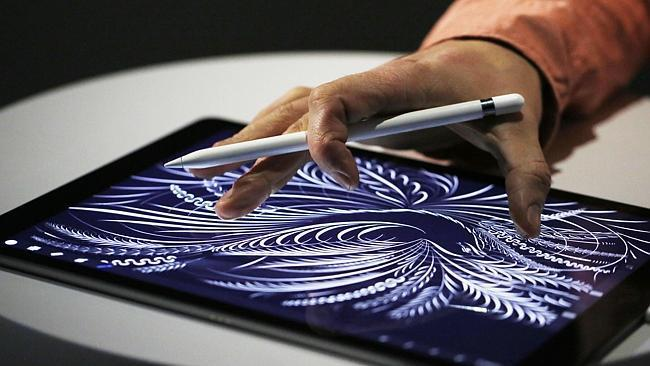 The iPad Pro includes a stylus called Apple Pencil designed for high-precision illustration
