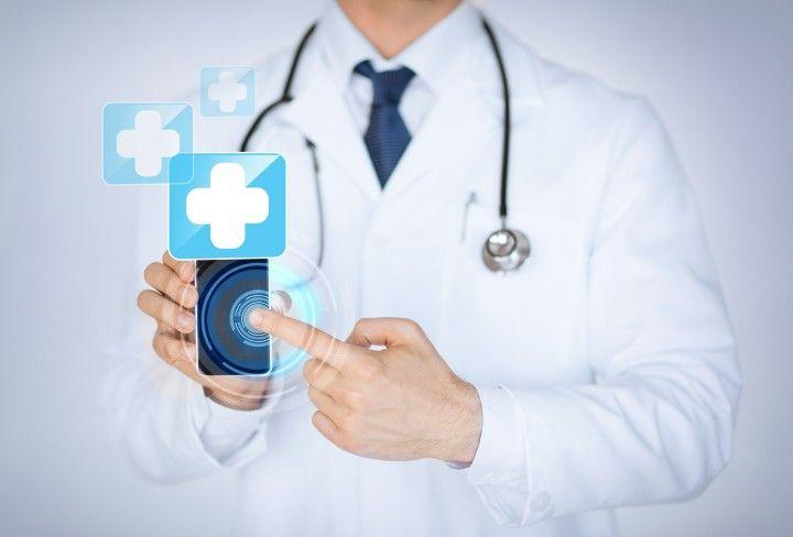 Medical apps are increasingly replacing referral books for doctors