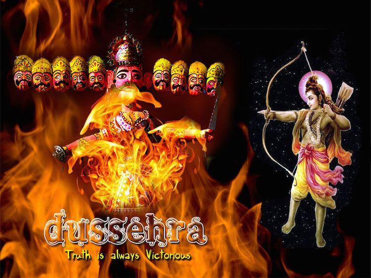Happy Dussehra From The Indian Telegraph