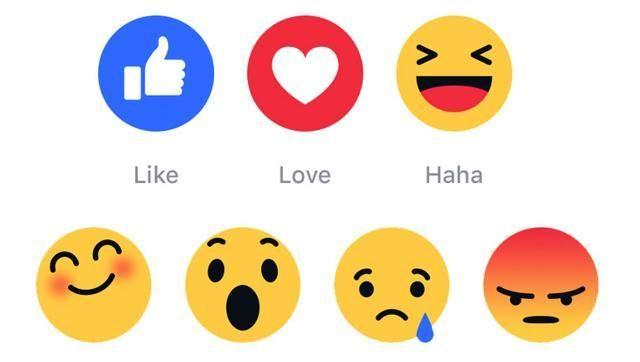 FB tests new emoticons but shows thumbs down to 'dislike' button