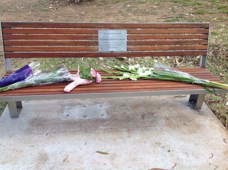 Prabha Kumar Memorial unveiled in Parramatta Park