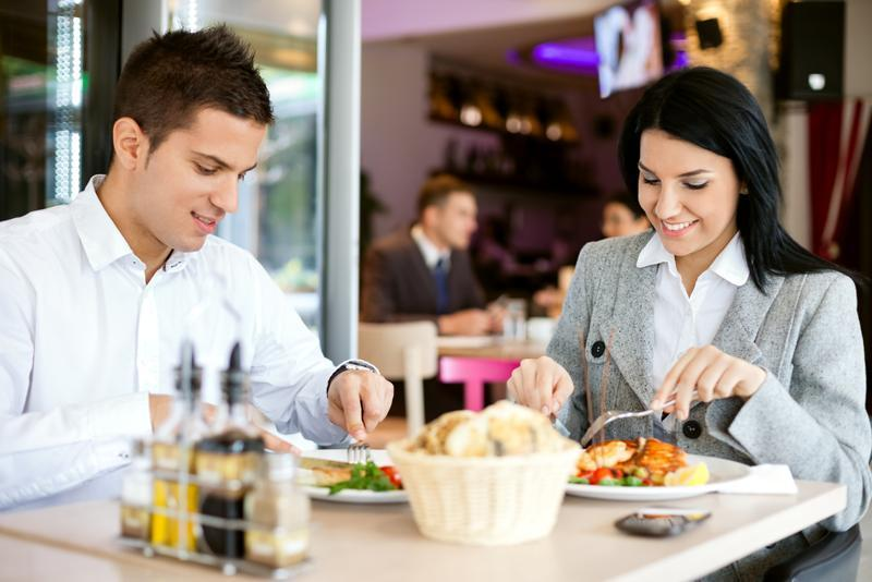 Attention men! Did you know you eat more in company of women?