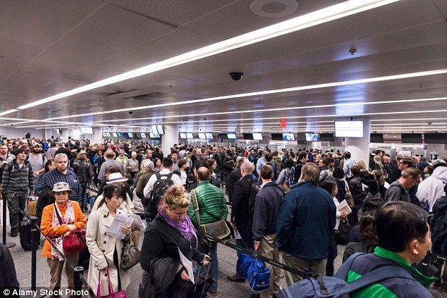 Airport chaos expected with passengers warned to turn up at least three hours before their international flights as immigration staff go on strike