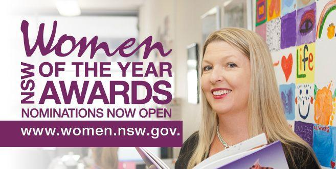 One Week Left To Nominate Your 2016 NSW Woman Of The Year