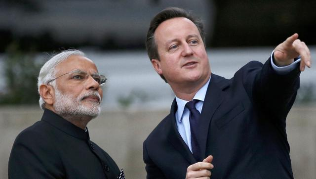 India, UK sign 6 deals, including £1.3-bn Vodafone investment