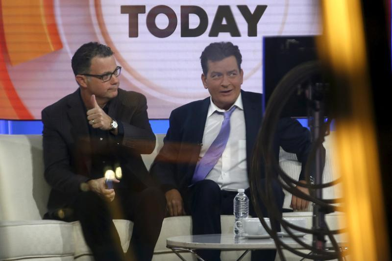 On TV show, actor Charlie Sheen says he is HIV positive