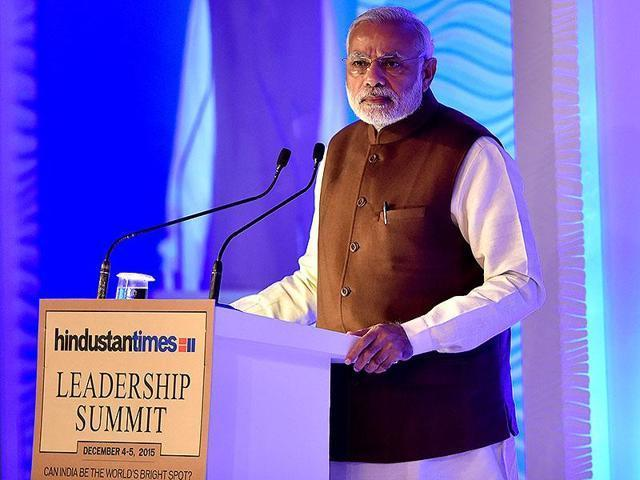 Parliament is functioning, credit goes to all parties: Modi at HTLS