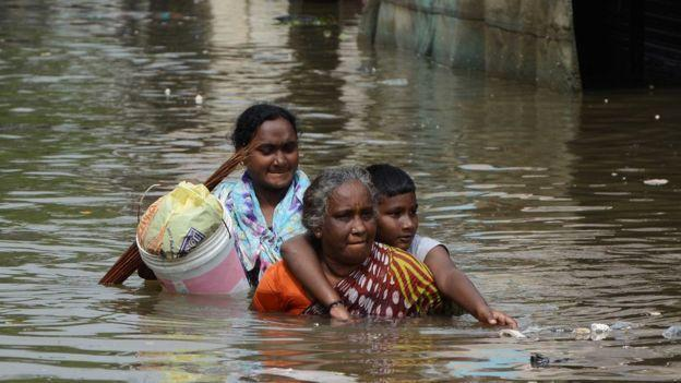 Power supply restored as Chennai floodwaters recede