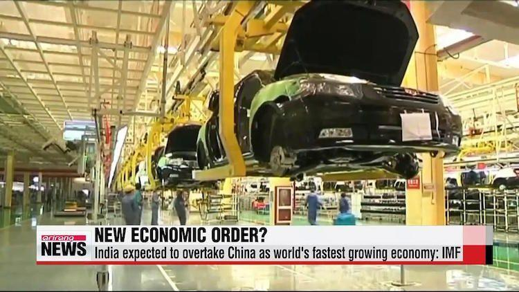 India poised to become fastest growing large economy