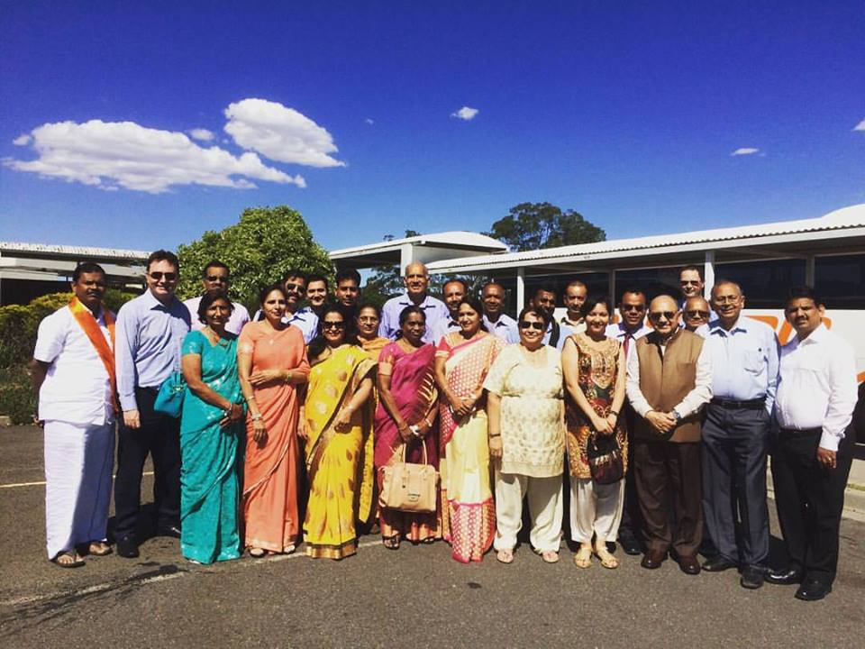Bus Trip for Diwali Parliament House Canberra