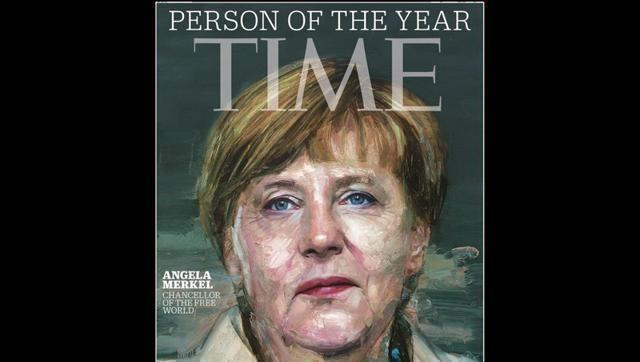 Germany's Merkel is Time's Person of the Year