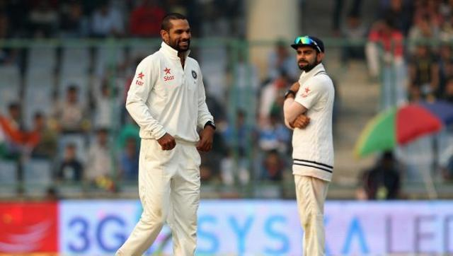 Dhawan reported for suspect bowling action during SA Test