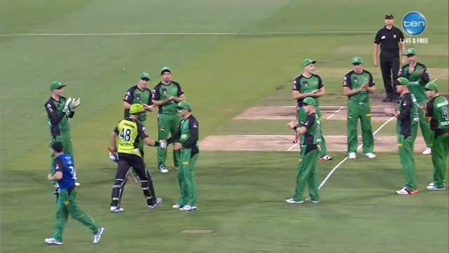 Big Bash League 2016: Sydney Thunder defeat Melbourne Stars in BBL05 Final at the MCG