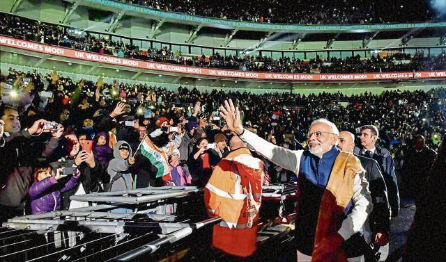 We were taking notes at Modi's Wembley event, says British Minister