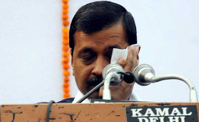 Ink Attack On Chief Minister Arvind Kejriwal At Odd-Even 'Thanksgiving'
