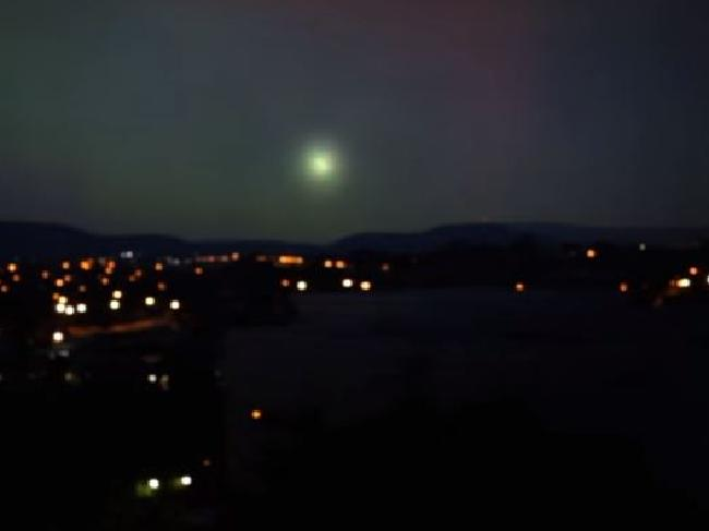 Was this 'ball of light' over Canberra a UFO?