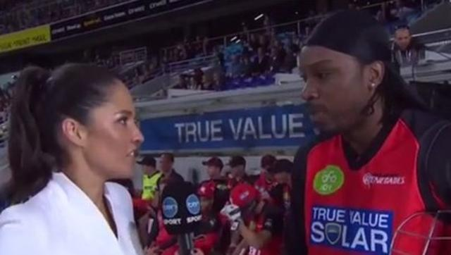 Chris Gayle to be banned from BBL over 'inappropriate' interview