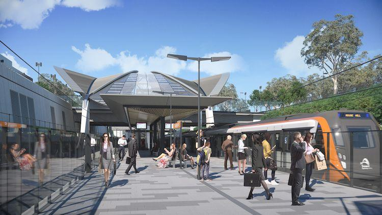Design Unveiled For First Stop On Sydney's New Metro