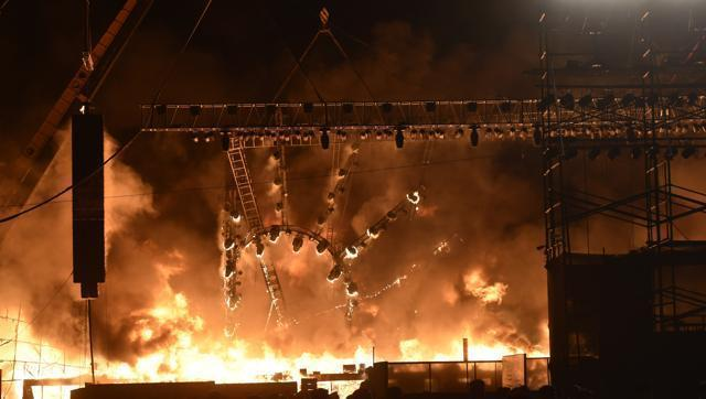 Mumbai: Prompt evacuation saves lives from fire at Make in India event