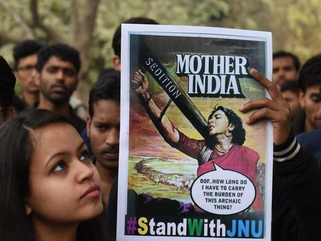 Protests split India between Left and Right as JNU echoes all over