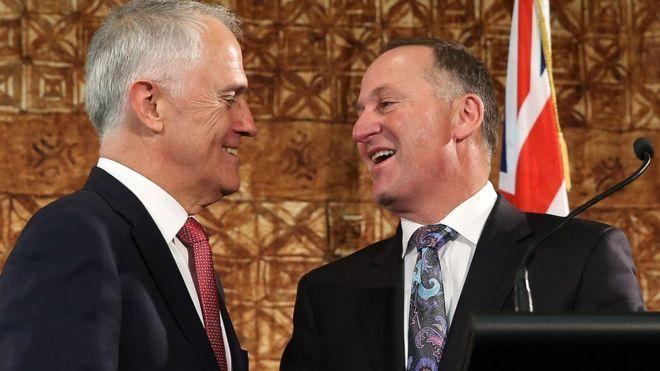 Turnbull, Key agree on New Zealand citizenship deal