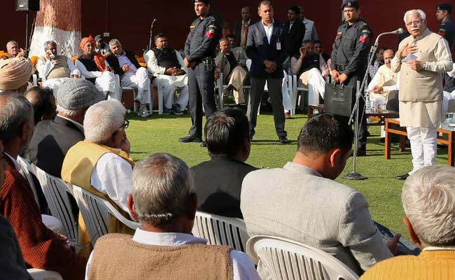 Jats To Get No Reservation Under OBC: Haryana Chief Minister