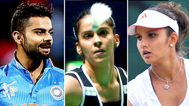 Sania, Kohli and Saina lead pack of 56 Indians in Forbes' Asia list