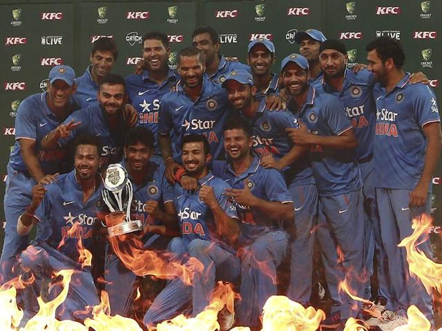 India claim top spot in ICC rankings after clinching Aussie T20 series