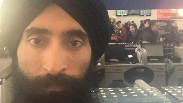 Sikh man who was barred from entering flight, turns plight into cause