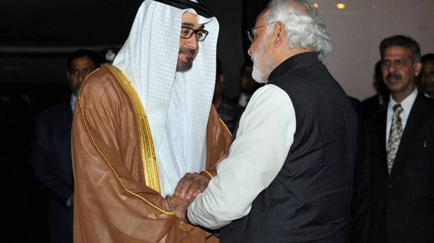UAE prince in India, set to give business boost