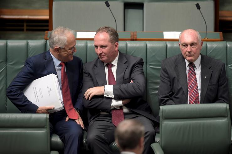 Barnaby Joyce takes over Nationals to become new deputy PM