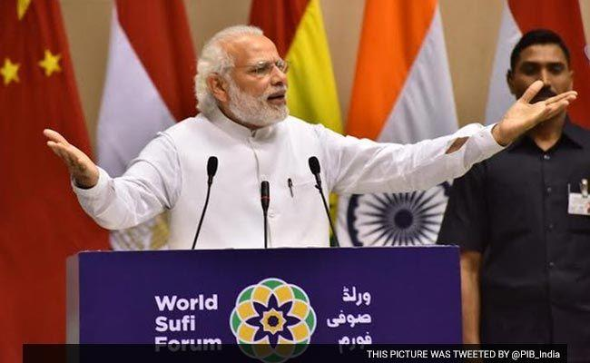 Allah Has 99 Names, None Stand For Violence: PM Modi At World Sufi Forum