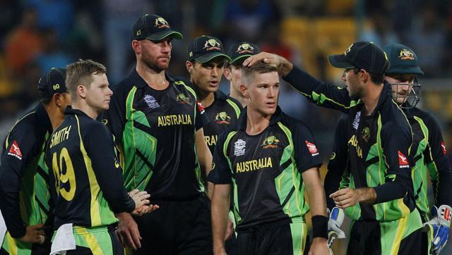 Aussies shake off fighting Bangladesh to register first win in World T20