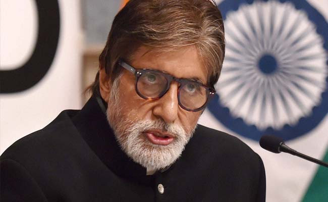 Complaint Filed Against Amitabh Bachchan For Singing 'Incorrect' National Anthem