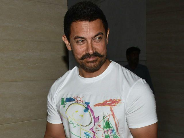 What Aamir Khan is Doing With His XL-Sized Clothes