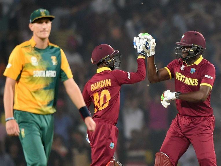 World T20: West Indies Seal Semi-Final Spot After Thrilling Win Over South Africa