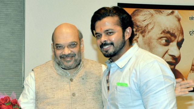 Ex-cricketer Sreesanth joins BJP, to contest in Kerala assembly polls