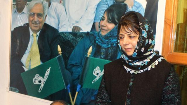 Mehbooba set to be J-K's first woman CM; BJP, PDP to meet governer today