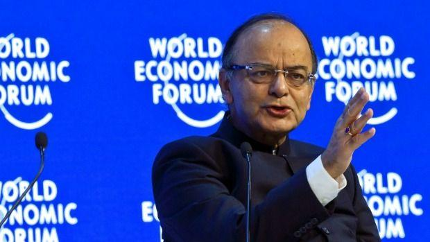 Indian Finance Minister Arun Jaitley says Australian super funds could tap into India