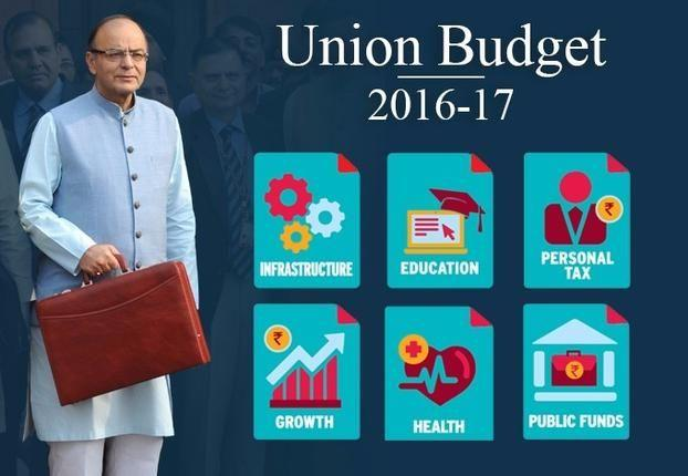 """Important Highlights Of The """"Union Budget 2016-2017"""" Announced By Arun Jaitley"""