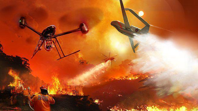 Firefighters To Use Drones At Emergencies