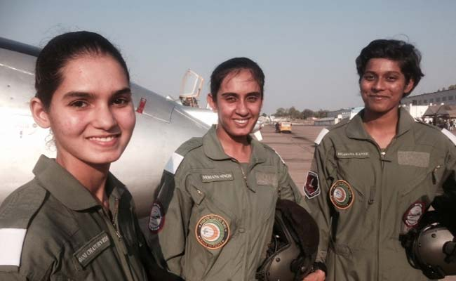 Meet India's First Three Women Fighter Pilots To Be
