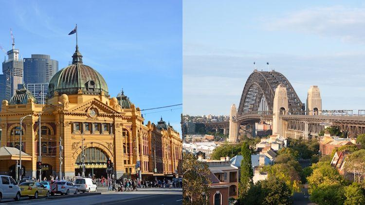 Sydney, Melbourne not the most expensive
