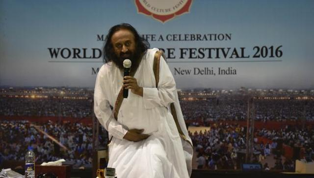 Will pay Rs 5 crore as 'compensation', not fine: Sri Sri on AoL event