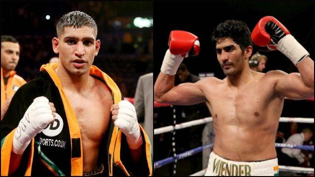 Boxing: Vijender Singh accepts Amir Khan's challenge to fight in India